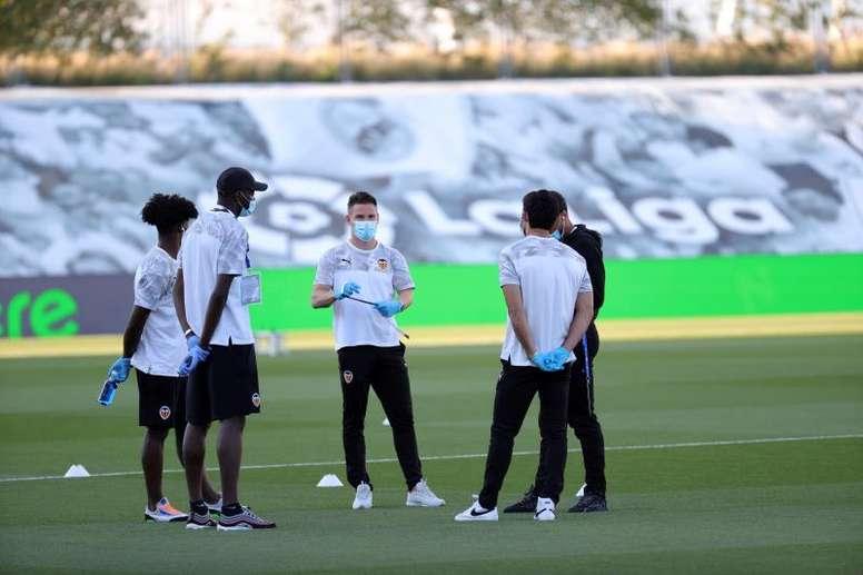 Gameiro entrará en la historia del Valencia. EFE