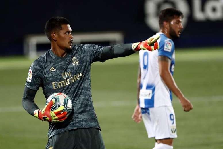 Areola s'en va du Real Madrid. EFE