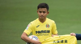 Real Madrid are thinking of sending Takefusa Kubo to Betis instead. EFE