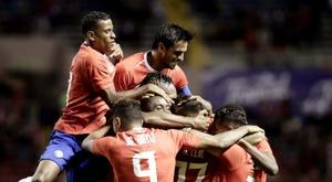 Costa Rica anunció el partido contra México. EFE