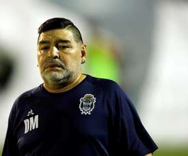 Maradona se somete a las pruebas del COVID-19. EFE/Archivo