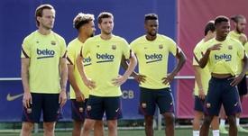 ¿Cambio de idea? El Barça ofrece en la Premier a Semedo. EFE/ FC Barcelona
