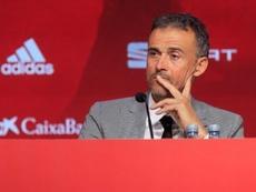 Luis Enrique y España comienzan un nuevo ciclo. EFE