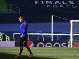 Nagelsmann prometió ser valiente ante el Atlético. EFE