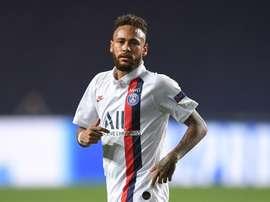Neymar enfrentará o RB Leipzig na próxima terça-feira. EFE/EPA/David Ramos