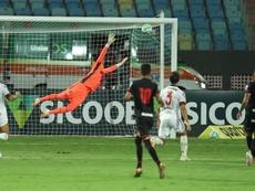 Goianiense humilla a Flamengo... ¡con cuatro jugadores con COVID-19! EFE