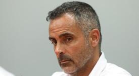 José Gomes, a punto de recibir a un nuevo jugador. EFE