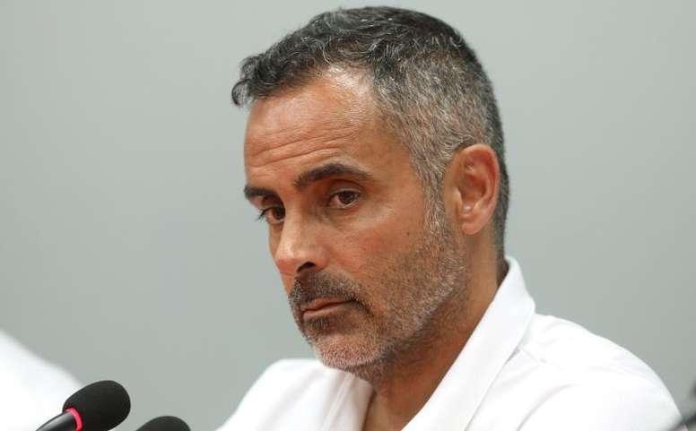 José Gomes habló en la previa. EFE