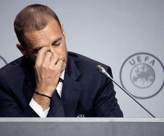La UEFA suspendió competiciones juveniles. EFE