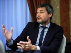 El ministro de Deportes argentino dice que no hay fecha para la vuelta del fútbol. EFE