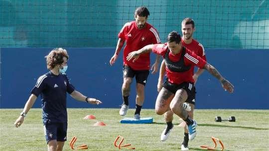 Osasuna ya está de vuelta. EFE/Jesús Diges