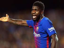 Umtiti had talks with Lyon. EFE