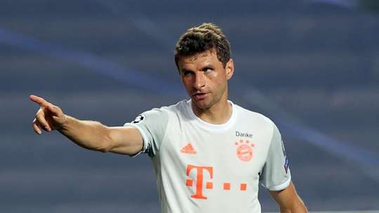 Müller compara as goleadas. EFE