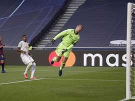 Neuer falou sobre o gol da seleção argentina. EFE
