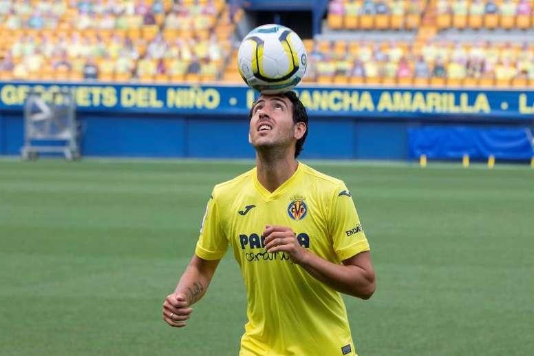 Dani Parejo compare Villarreal et le FC Valence. EFE