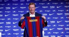 Koeman habló como nuevo entrenador del Barça. EFE