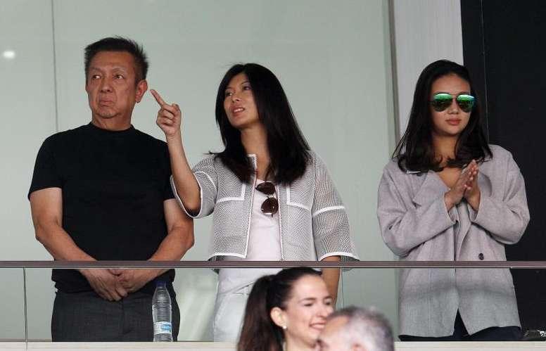 Peter Lim adquiere 17.600 acciones más. EFE/Archivo