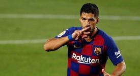 Luis Suárez não faz parte dos planos do Barcelona. EFE/Alberto Estévez/Arquivo