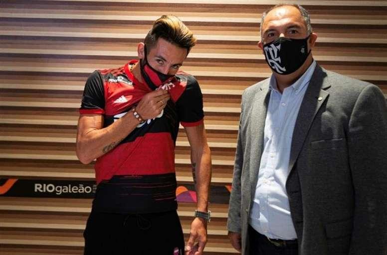 Marcos Braz pode concorrer como vereador. EFE/Alexandre Vidal/Cortesía del Flamengo