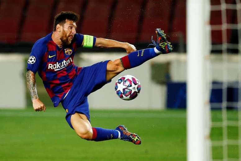 Messi wants to leave Barcelona. EFE
