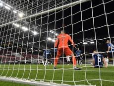 El Inter perdió en un increíble partido ante el Sevilla. EFE
