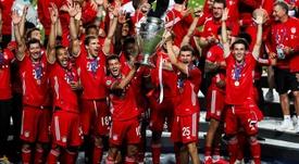 L'UEFA dévoile l'équipe-type de la Ligue des Champions. efe