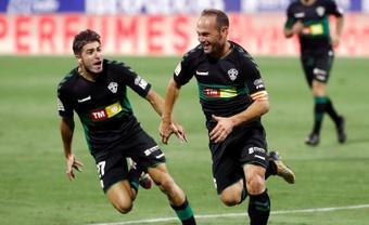 Nino se convirtió en uno de los jugadores más importantes en la historia del Elche. EFE