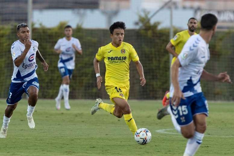 Kubo se ganó el sitio fijo en la segunda mitad de temporada en el Mallorca. EFE