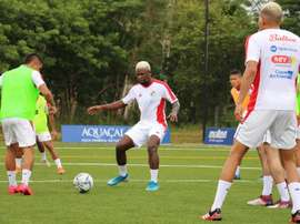 Panamá apoya a los jugadores afectados. EFE