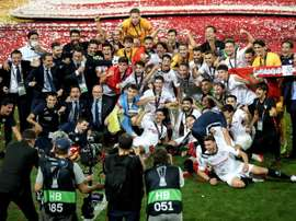 El Sevilla, campeón, aporta ocho jugadores. EFE