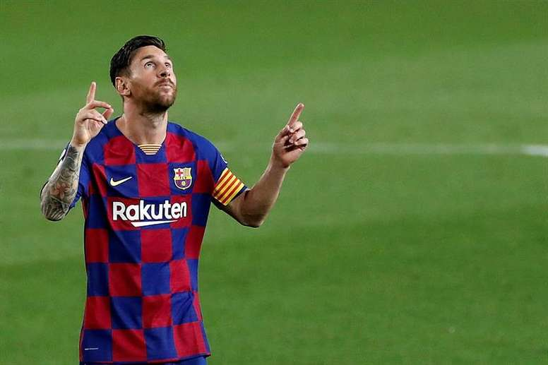 There are four reasons why Messi wants to leave. EFE