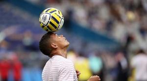 Thiago Silva se confie sur l'appel de Juninho. EFE