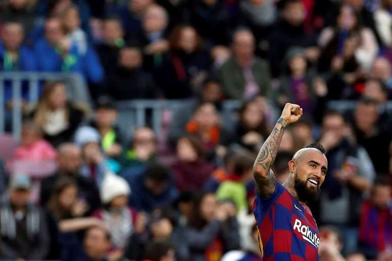 Arturo Vidal will travel to Milan to finalise his move to Inter this Tuesday. EFE