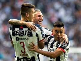 Monterrey ganó el partido de ida de la Copa México. EFE/Miguel Sierra/Archivo