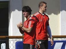El seleccionador alemán alabó al guardameta internacional alemán. EFE
