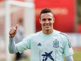 Rodrigo, feliz por volver a la Selección Española. EFE/RFEF