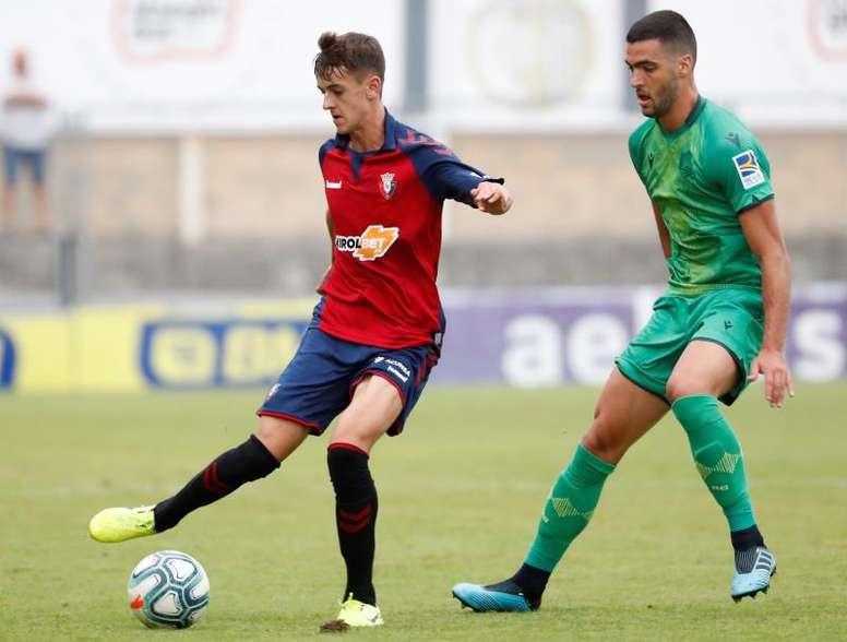 Osasuna visitará al Cádiz en el estreno de Liga. EFE