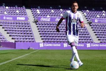 Tras un año para olvidar en el Valladolid, Orellana ya es de Universidad Católica. EFE