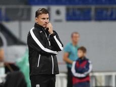 Cambio de rumbo en el equipo de Belgrado. EFE