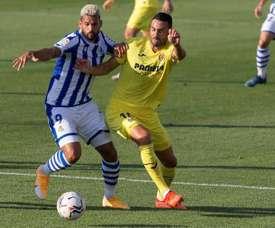 Prováveis escalações de Real Sociedad e Villarreal. EFE