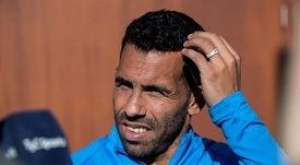 Carlos Tevez is going through a tough time. EFE