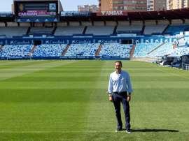 Rubén Baraja analizó a Las Palmas. EFE