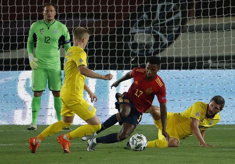 Ucrania considera injusta la decisión de la UEFA. EFE