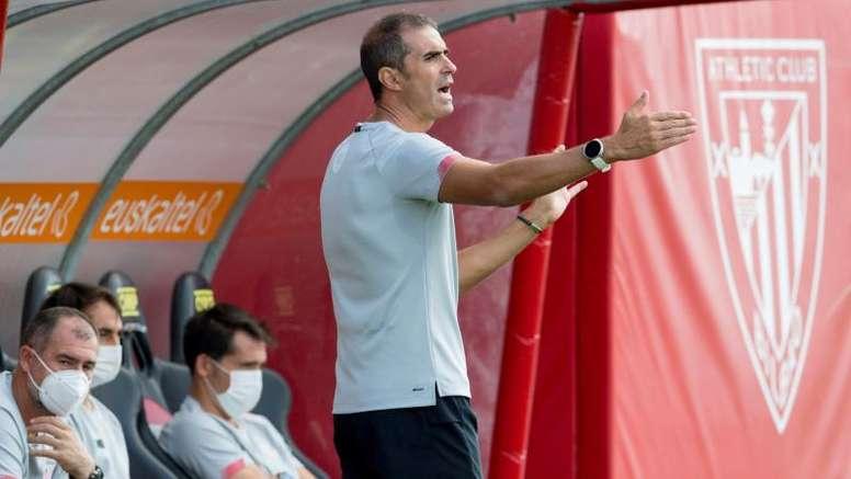 Garitano analizó al Levante en la previa. EFE