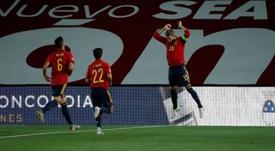 Goleador Ramos: más tantos que Dybala, Joao Félix o Hazard. EFE/Emilio Naranjo