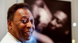 Pelé felicitó a Cristiano por su centenario goleador con Portugal. EFE