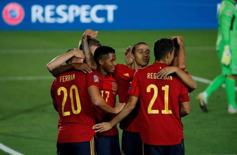 España volverá a jugar en el Di Stéfano. EFE