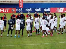 Panamá sigue concentrada en Buenaventura. EFE