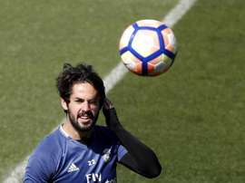 Isco has now recovered from his ankle injury. EFE