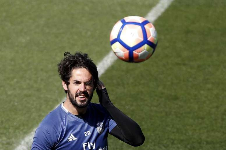Isco Alarcón does not intend to leave Madrid. EFE